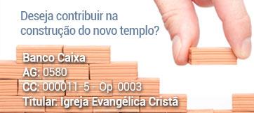 Deseja contribuir na construção do novo templo?